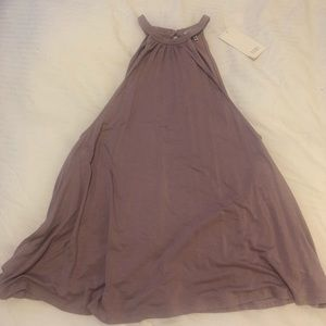 Tobi Mauve High Neck Tank Top